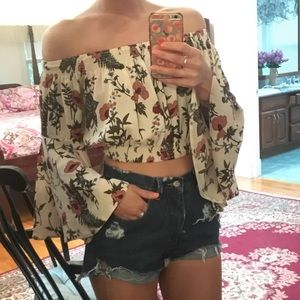 Beautiful LF crop top